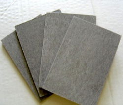 Fibercement board